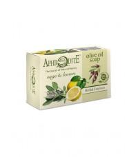 Мыло оливковое с шалфеем и лимоном (Z-76)