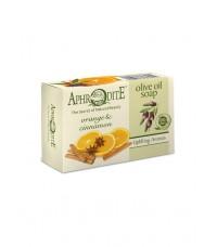 Мыло оливковое с апельсином и корицей (Z-79)