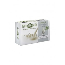 Мыло оливковое с молоком ослиц (D-82)