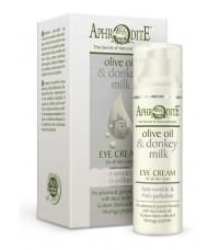 Омолаживающий защитный крем для кожи вокруг глаз (D-18)